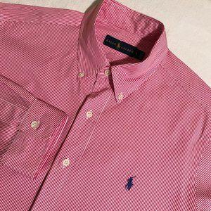 Men's Ralph Lauren Long Sleeve Button Front Shirt